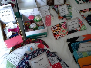 Other bits & bobs - brooches, hairclips, tea cosies, bookmarks and mini sewing kits.